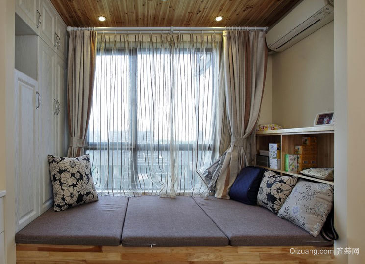 将家变成宫殿:经典日式榻榻米床装修效果图鉴赏