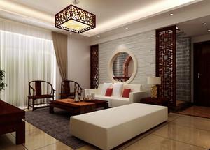 宜家风格中式客厅