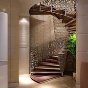 欧式奢华风格旋转楼梯效果图