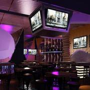 中式风格酒吧吊顶装饰