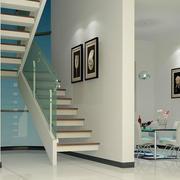 小巧风格楼梯扶手