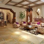 式简约风格别墅客厅装饰