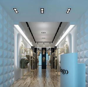 2015经济实惠的精致服装店装修设计效果图大全