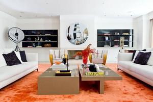 小户型拒绝平庸让色彩大行其道的迷人一居室装修设计