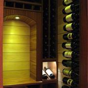 温馨色调酒窖