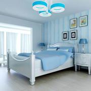 清爽型卧室设计