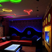 酒吧简约风格灯饰装饰