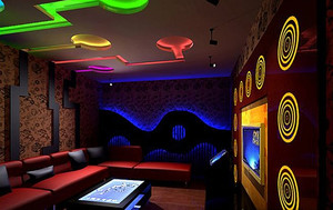 充满着热情的酒吧设计装修效果图