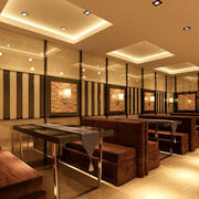 火锅店吊顶设计