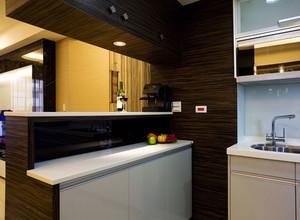 宜家风格厨房吧台设计