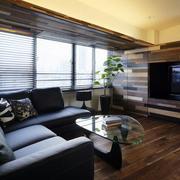 复式楼电视背景墙装修