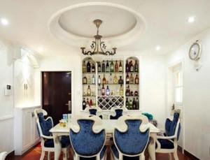 绝美视觉欣赏 欧式精美餐厅背景墙装修效果图