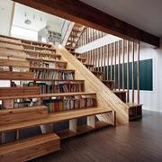 自然风格楼梯设计