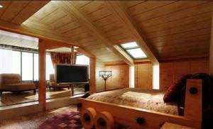 家的顶端:斜顶阁楼装修效果图