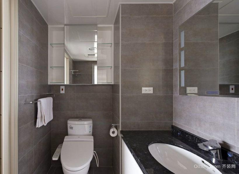 有爱之家:经典别致的小卫生间装修效果图鉴赏