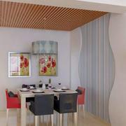 淡色调餐厅设计