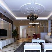 网状客厅地板砖装修