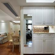 家装室内客厅鞋柜装饰