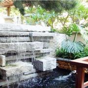 庭院喷泉设计效果图