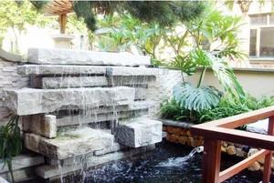 别有一番风味:优雅日式别墅庭院设计效果图