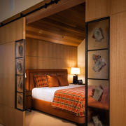 中式风格卧室门
