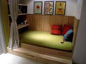 享受惬意的生活:现代日式家居实木地台装修效果图