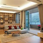 木屋别墅客厅装修