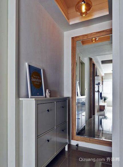 美感十足的现代日式100平米两居室新房装修效果图