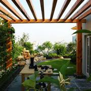环境宜人的屋顶花园