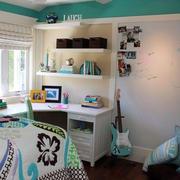 卧室型书房装修