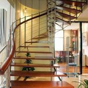 镂空式楼梯效果图