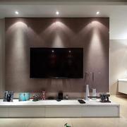 两室一厅简约风格电视背景墙