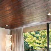 卧室桑拿板设计