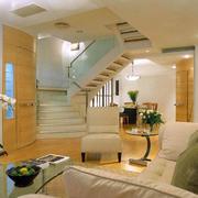 自然风格楼梯