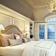 卧室大床设计效果图