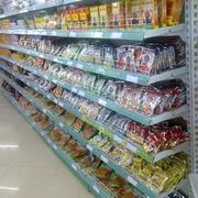 自然风格超市货架