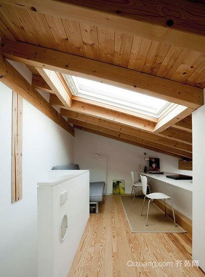 家的保护伞:实用美观阁楼吊顶装修效果图大全