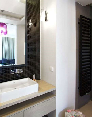 50平米活力缤纷的舒适一室一厅房屋装修效果图