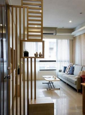 温馨空间:78平米日式两室一厅室内装修设计效果图
