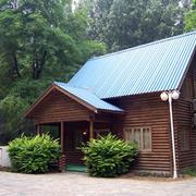 外观效果图小木屋