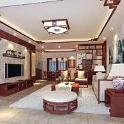 温馨型中式客厅