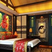 传统型卧室装修效果图
