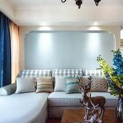 家装混搭风格室内沙发装饰