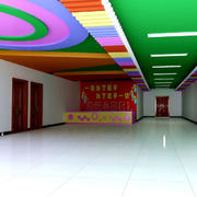 自然风格幼儿园主题墙