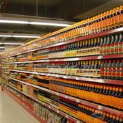 华联超市货架