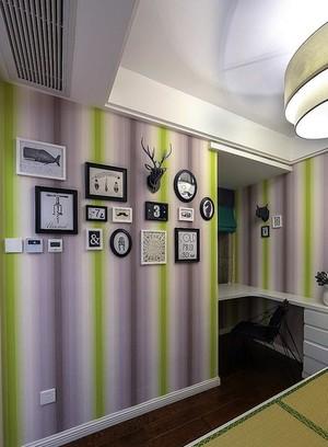 能够打动人心的现代紫色浪漫小别墅装修效果图