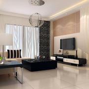 宜家风格客厅地板砖装修