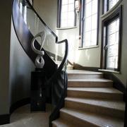 楼梯原木台阶装饰