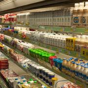 九百超市货架效果图