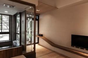 宁静致远 现代日式农村全木房屋室内装修设计效果图大全